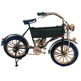 Miniatura Bicicleta Motorizada Verde