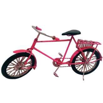 Miniatura Bicicleta Rosa