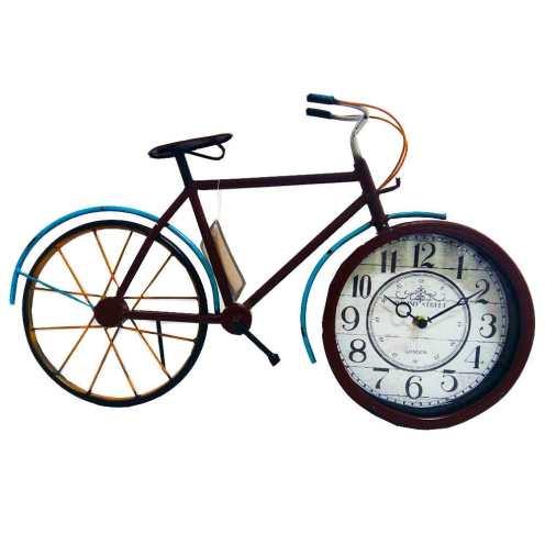Relógio De Mesa Retrô Bicicleta