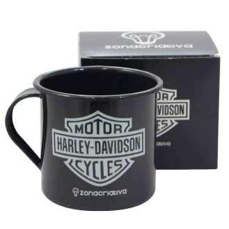 Caneca-de-Metal-Esmaltado-Harley-Davidson-Cod-296301