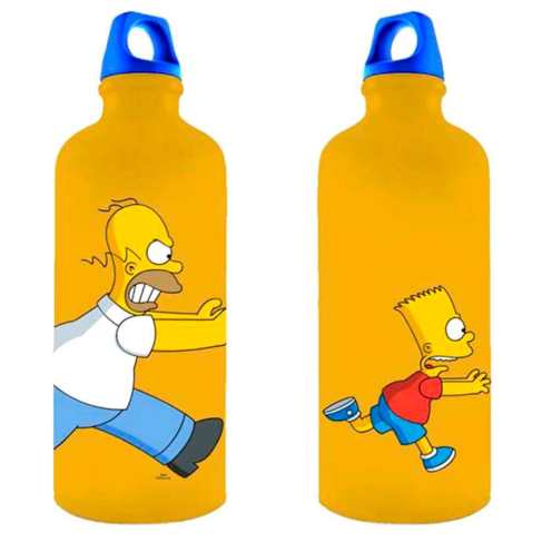 Garrafa-Térmica-Home-e-Bart-Os-Simpsons-Cód-323903