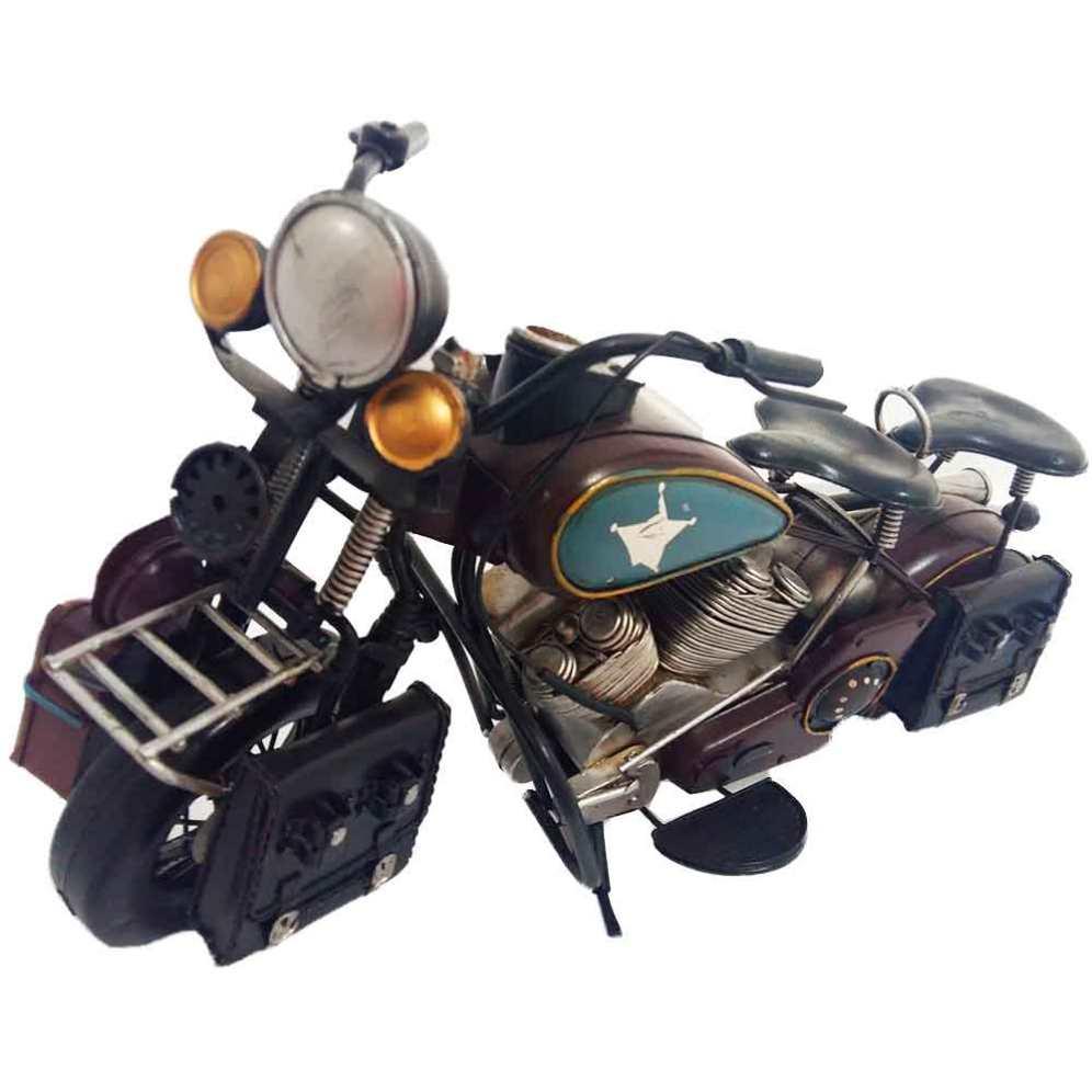 Miniatura-Motocicleta-Marrom-Cód-118001