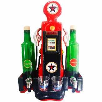Pingômetro-Bomba-de-Combustível-2-Garrafas-Vermelho-Texaco-Cód-267301