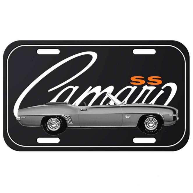 Placa-de-Metal-Camaro-Vintage-Chevrolet-Retrô-Cód-313201