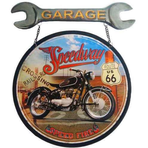 Placa-Ferramenta-de-Garagem-Speed-Fire-Pequeno-Cod-346901