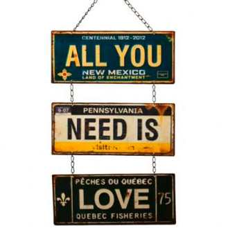 Placa-Metal-All-You-Need-Is-Love-Cod-214801