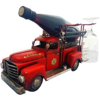 Porta-Garrafa-de-Vinho-Caminhão-Bombeiro-Pequeno-Cód-26801